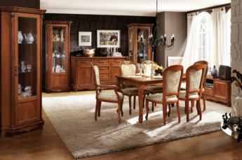 наборы мебели для гостиной из массива дерева в москве